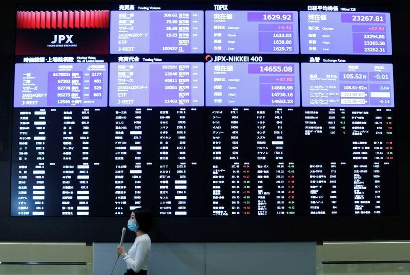 © Reuters. TOKYO FINIT EN BAISSE