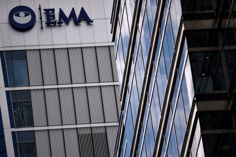 © Reuters. La sede dell' Agenzia europea per i medicinali (Ema) a Londra