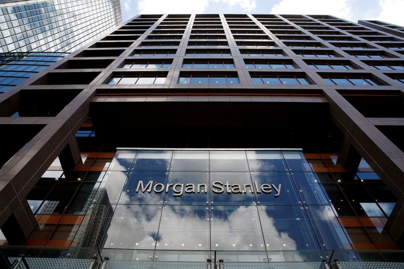 © Reuters. Sede di Morgan Stanley a Londra