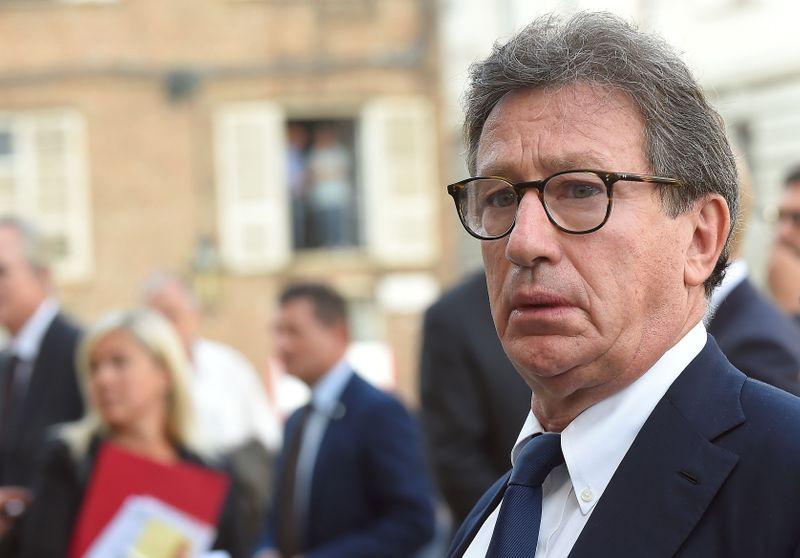 © Reuters. DÉMISSION SURPRISE DU PATRON DE FERRARI