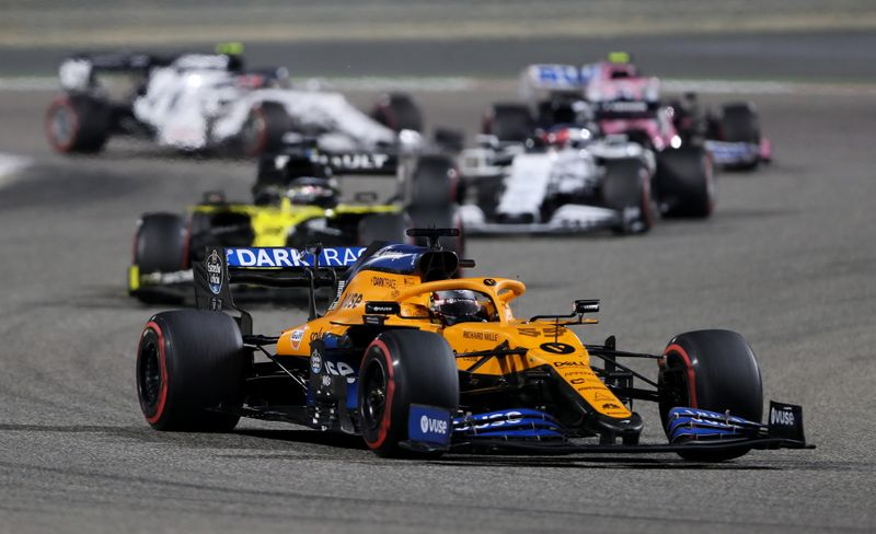 © Reuters. Sakhir Grand Prix