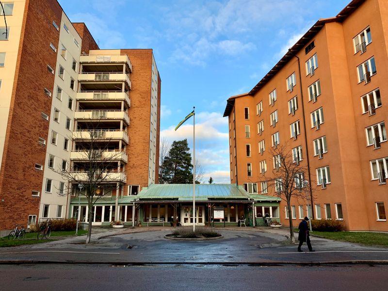 © Reuters.  FOTO DE ARCHIVO: Vista general del asilo de ancianos Berga en Estocolmo