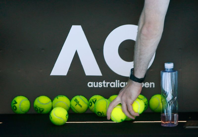 © Reuters. Tennis - Australian Open - Melbourne, Australia