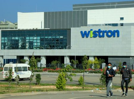 Apple puts supplier Wistron on notice after Indian factory violence By Reuters