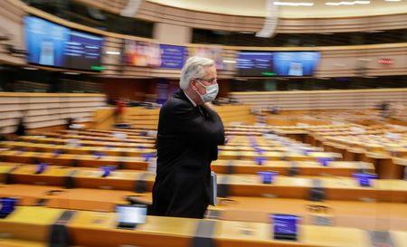 Britain digs heels in as deadline looms on post-Brexit trade talks By Reuters