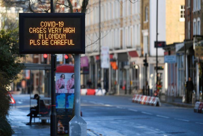 © Reuters. Outbreak of the coronavirus disease (COVID-19) in London