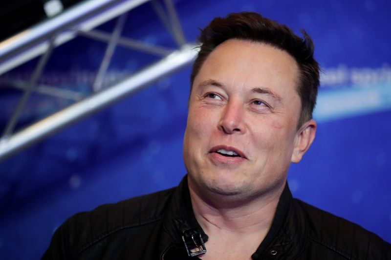 Tesla's Elon Musk asks about converting 'large transactions' to bitcoin