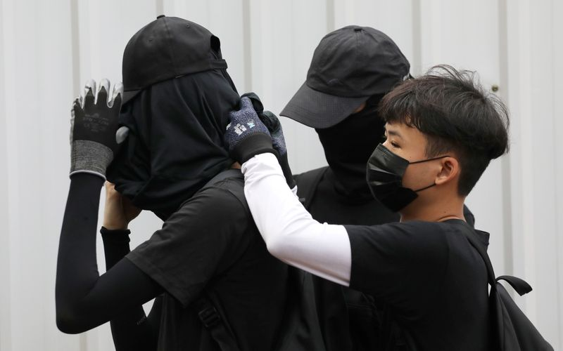 Hong Kong court rules mask ban constitutional for all public meetings