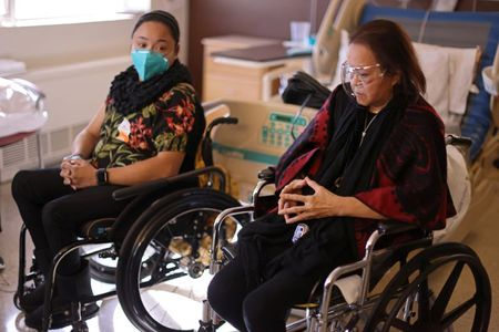 California nurse walks out of hospital after 8-month COVID-19 ordeal By Reuters