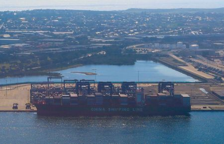 Australia's goods trade surplus hits 2-year lows on China trade tensions By Reuters