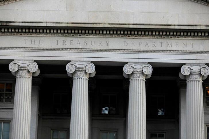© Reuters. Foto de archivo del Departamento del Tesoro en Washington