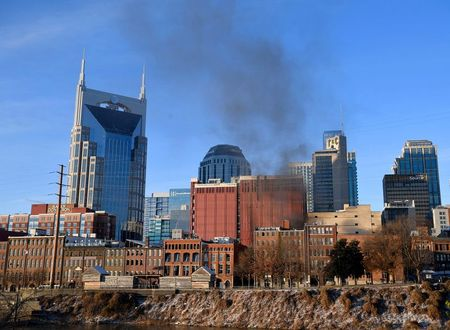 Vehicle explosion rocks Nashville on Christmas, police call it an 'intentional act' By Reuters