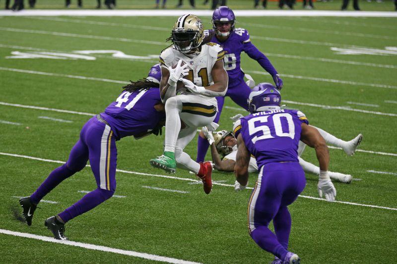 © Reuters. NFL: Minnesota Vikings at New Orleans Saints