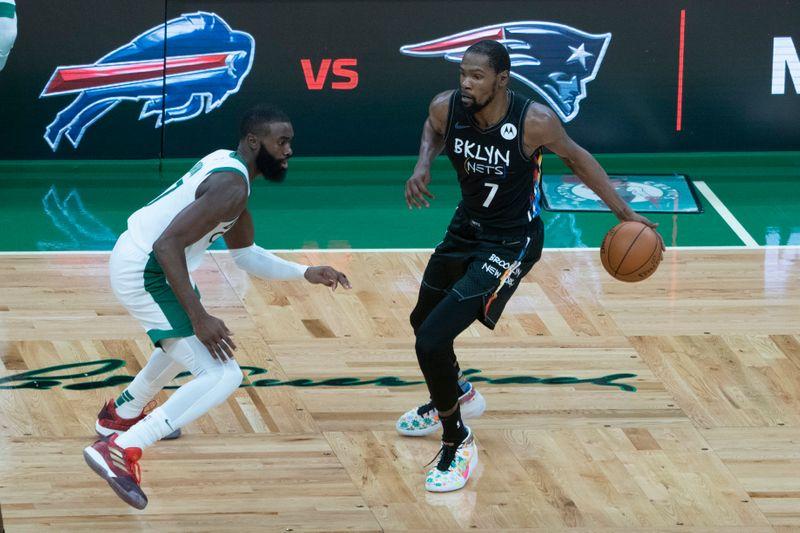 © Reuters. NBA: Brooklyn Nets at Boston Celtics