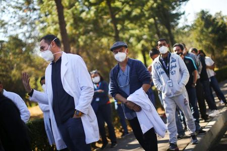 Mexico elderly could get coronavirus vaccines in January By Reuters