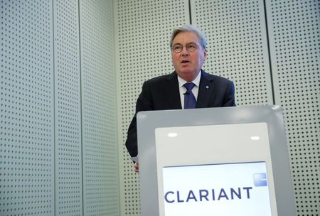 SABIC's time limit request for Clariant board would end chairman's term By Reuters