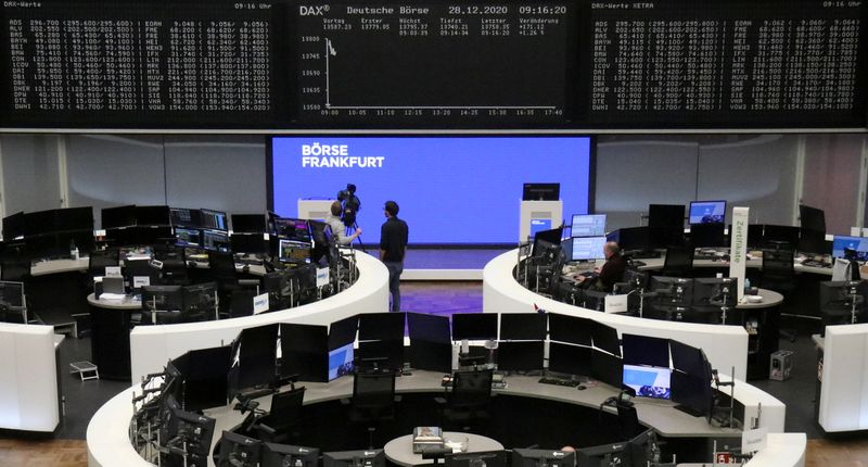 Европейские акции выросли после одобрения стимулов в США, торговой сделки Британии и ЕС