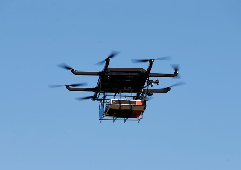 U.S. to allow small drones to fly over people and at night