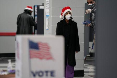 U.S. judge orders two Georgia counties to halt voter purge ahead of Senate runoff By Reuters