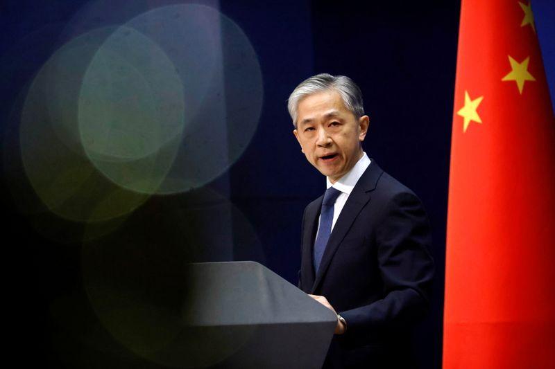 © Reuters. FOTO DE ARCHIVO: El portavoz del Ministerio de Relaciones Exteriores chino, Wang Wenbin, em Pekín