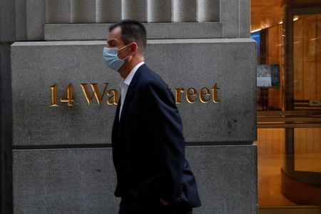Wall St opens at record high on fiscal aid relief, vaccine optimism By Reuters