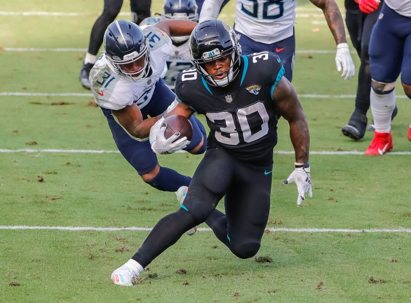 © Reuters. NFL: Tennessee Titans at Jacksonville Jaguars