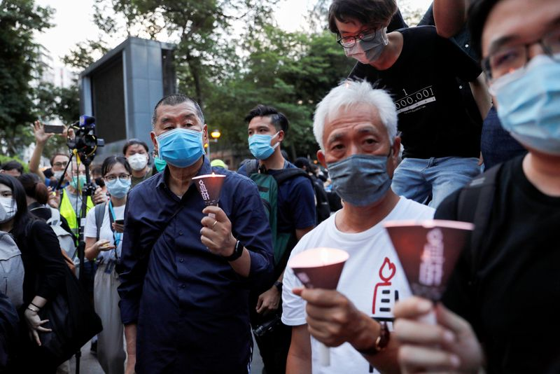 © Reuters. FILE PHOTO: Special Report HONGKONG-SECURITY/CHURCH
