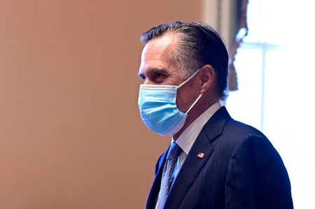Romney urges sweeping vaccine plan as U.S. surpasses 20 million COVID-19 cases By Reuters