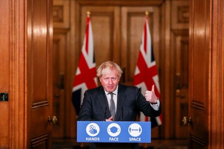 UK PM Johnson could lose his seat and majority at next election