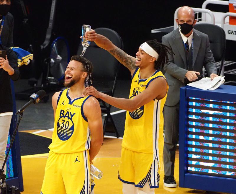 NBA roundup: Curry's 62 factors propel Warriors