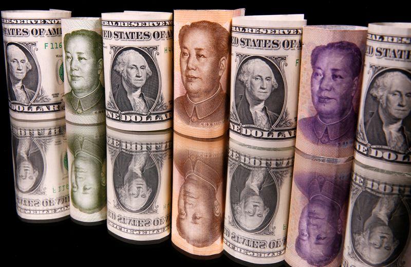 Dólar sube debido a una baja del apetito por el riesgo
