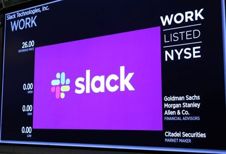 Slack outage disrupts remote working for users By Reuters