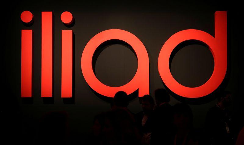 © Reuters. Logo Iliad