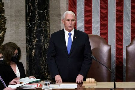 Pence to attend Biden's inauguration, official says By Reuters