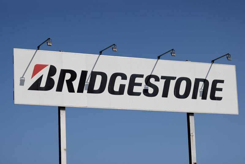 © Reuters. FILE PHOTO: Japan's Bridgestone to close tire factory in Bethune due to low demand