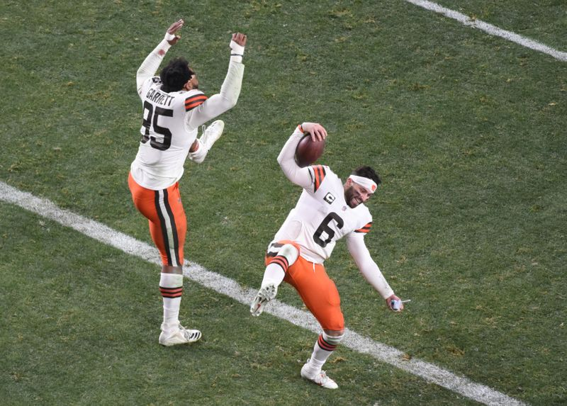 © Reuters. NFL: AFC Wild Card Round-Cleveland Browns at Pittsburgh Steelers