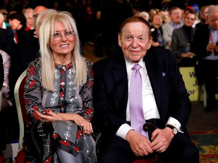 Sheldon Adelson, casino mogul who made big bets on Trump and Netanyahu, dies at 87 By Reuters