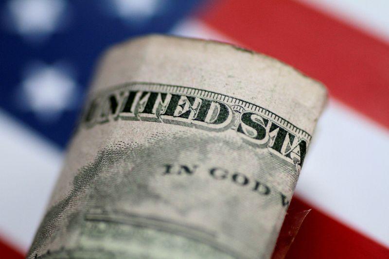 © Reuters. IMAGEN DE ARCHIVO. Una ilustración de un billete de cinco dólares