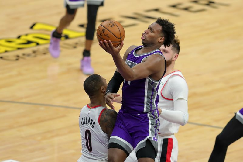 © Reuters. NBA: Portland Trail Blazers at Sacramento Kings