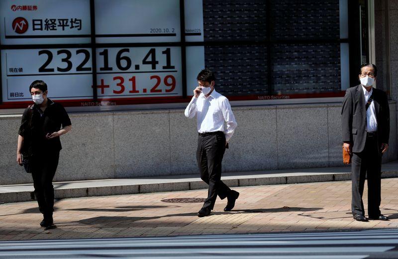 Индекс Nikkei закрылся на 30-летнем пике благодаря технологическим акциям