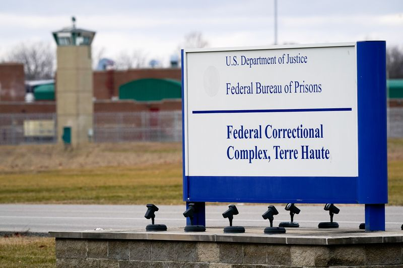 © Reuters. The Federal Correctional Compex in Terre Haute