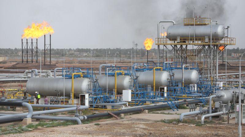 © Reuters. العراق يقول إنه لن يتفاوض مع أوبك+ بشأن حصته من التعويض عن الإنتاج الزائد