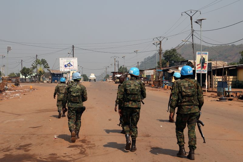 © Reuters. Rebels attack Central African Republic capital