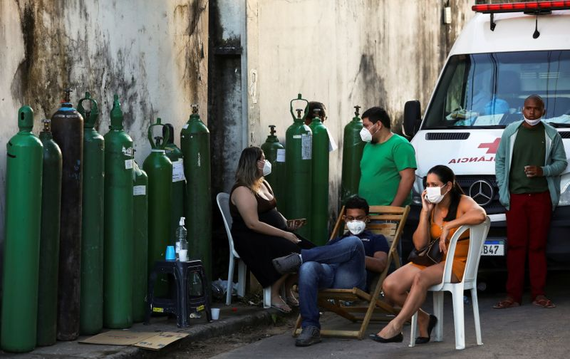 Reeling again from COVID-19, Amazonas gets respirators, oxygen from Brazil Air Force and Venezuela