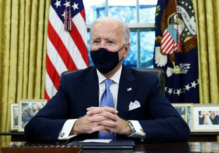 Biden administration pauses federal drilling program in climate push By Reuters