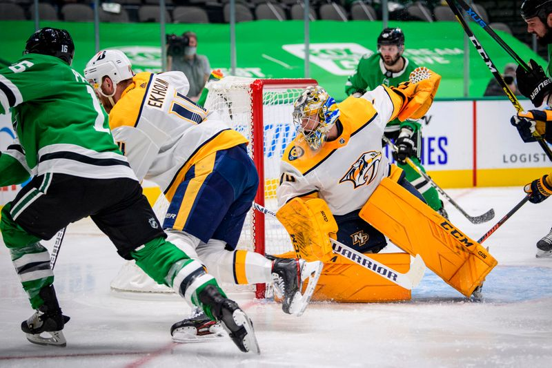 © Reuters. NHL: Nashville Predators at Dallas Stars