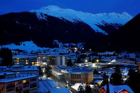 Davos ski resort eerily quiet without economic talkfest this year By Reuters