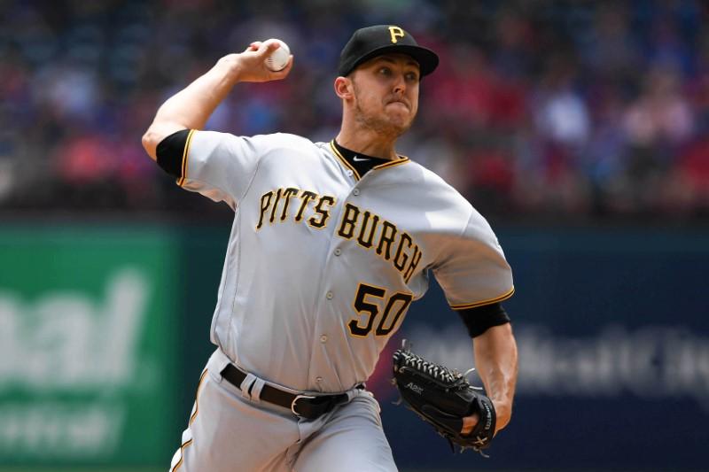 © Reuters. MLB: Pittsburgh Pirates at Texas Rangers