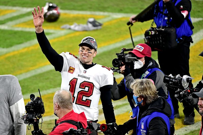 © Reuters. NFL: NFC Championship Game-Tampa Bay Buccaneers at Green Bay Packers