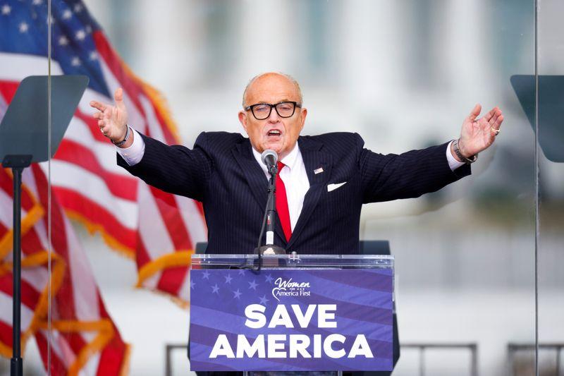 Trump lawyer Giuliani faces $1.3 billion lawsuit over 'big lie' election fraud claims